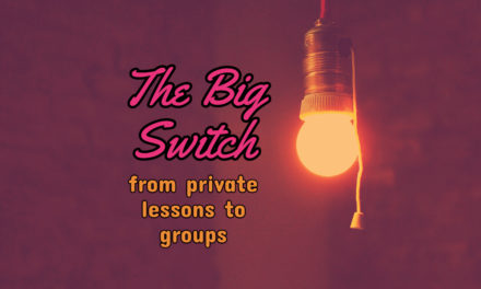The Big Switch-Converting our Private Studio to Groups Part 3